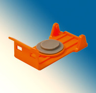 1816-OR-1000, Cap/Clip Orange Large Canon PGI-250