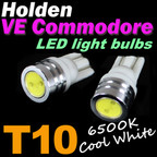 Pair of T10 W5W LED Light Bulbs, to suit Holden VE Commodore & HSV Parker Lights