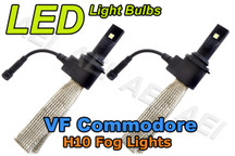 Holden VF Commodore SSV Calais-V Fog Lights LED Bulb Kit (CANBUS H10 6000K)