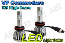 Holden VF Commodore High Beam Headlight LED Conversion Kit (CANBUS H9 6000K)