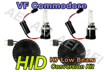 Holden VF Commodore Low Beam Headlight HID Conversion Kit (CANBUS H7 35W)