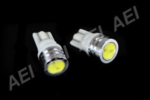 Pair of White T10 LED Bulbs to fit Toyota 86 GT Front Parker Lights