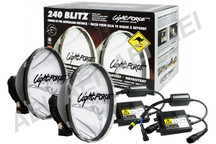 Lightforce 240 Blitz 55W 6000K HID Spot Lights (2 x Pencil Beam)