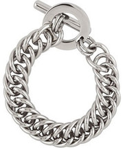 Stainless Steel Double Curb Link Bracelet
