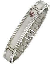 12mm Titanium & Magnetic Medical Bracelet