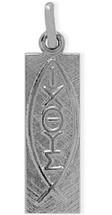 Genune Sterling Silver Stylish Religious Medallion