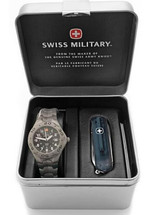 Swiss Military® Ladies Titanium Watch Set