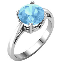 Genuine Sterling Silver CHOOSE YOUR OWN 8mm GEMSTONE Solitaire Ring