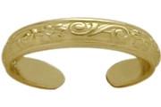 10 Karat Yellow Gold Toe Ring