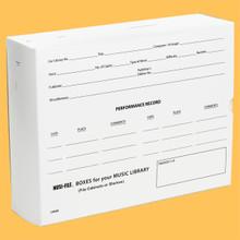 "[CM03] CHORAL OCTAVO MUSI-FILE BOXES -- 8.5"" X 11"" x 3"" DEEP"