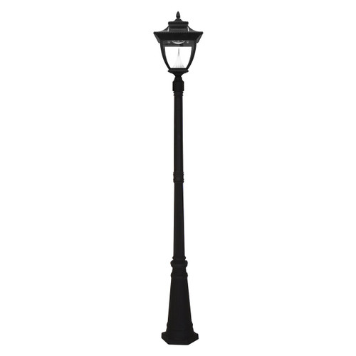 gama sonic pagoda lamp post capsells inc. Black Bedroom Furniture Sets. Home Design Ideas