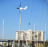 Sunforce 400W marine wind turbine