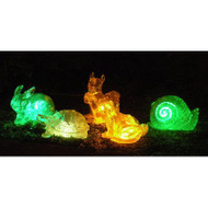 Homebrite Solar Color Changing Animals (Set of 5 - Assorted)