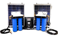 Aqua Sun Villager S12-4 - Solar Powered Stationary Water Purification System