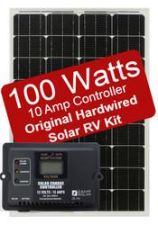 Zamp 100 Watt Solar RV Kit - 10 Amp Controller
