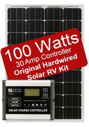 Zamp 100 Watt Solar RV Kit - 30 Amp Controller