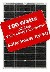 Zamp 100 Watt Solar Ready RV Solar Kit - 30 Amp Controller