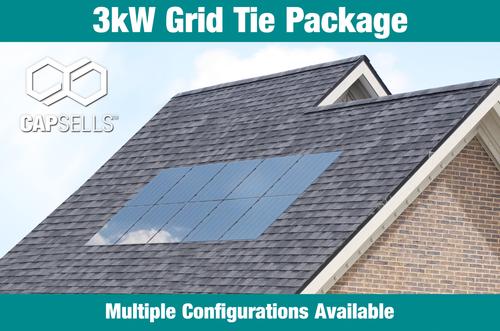 Capsells 3kW Grid Tie Package