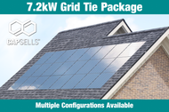 Capsells 7.2kW Grid Tie Package