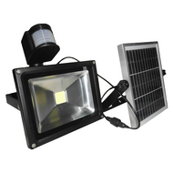 2000 Lumen Solar Security Light