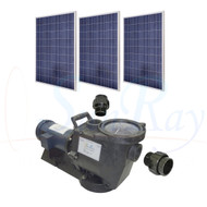SolFlo1 w/ 3 Solar Panels