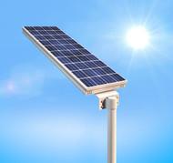 3300 Lumen Solar Motion Sensor Street Light / Floodlight / Walkway Light - Smart 30 W LED
