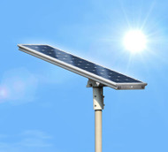 5000 Lumen Solar Street Light / Parking Lot Light – 40 Watt LED