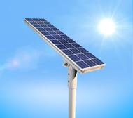 6000 Lumen Solar Street Light / Parking Lot Light – 50 Watt LED