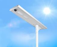 3700 Lumen Solar Street Light / Parking Lot Light – 30 Watt LED