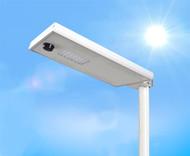 2500 Lumen Solar Street Light / Parking Lot Light – 20 Watt LED