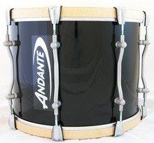 Andante Pro Series Pipe Band Tenor Drum