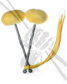 TyFry Ultimate Tenor Drum Sticks - Yellow