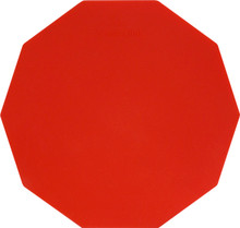 "8"" Snare Line Corps Pad - Red"