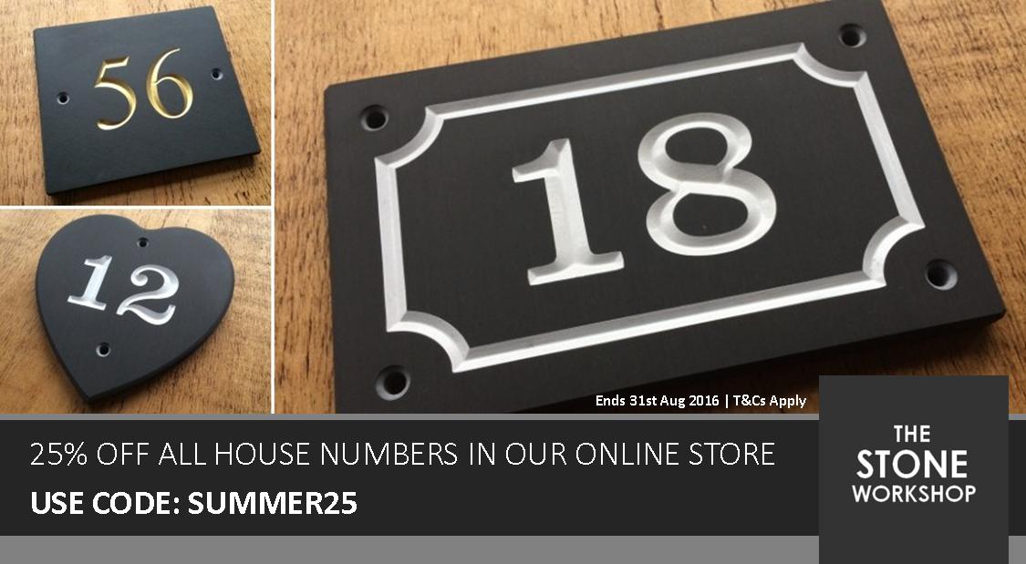 Lakeland Slate House Number Sale