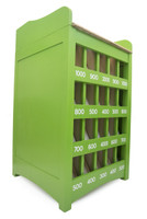 Lime Green  Painted Sapo Game - Fun Outdoor Yard Game | Juego De Sapo