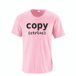 Control C (Copy) Adult Tee (Goes With Control V Paste)