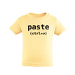 Control V (Paste) Toddler Soft Cotton T-Shirt (Goes With Control C Copy)