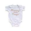 Mommy's Little Cowgirl Baby Cotton Country Western Girl Romper