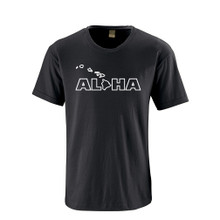 Apericots Aloha Hawaii Hawaiian Cute Fun Unisex Adult Soft Quality Tee Shirt