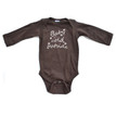 Apericots Cute Baby It's Cold Outside Fun Snowflake Winter Infant Soft Cotton Long Sleeve Bodysuit