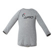 Apericots Ti Amo (Italian for I Love You) Cute Baby Long Sleeve Bodysuit