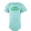Apericots Cute Funny I Mustache You For Kisses Not Pinches Baby St. Patrick Bodysuit