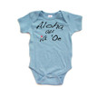 Aloha Au Ia 'Oe (Hawaiian for I Love You) Infant Valentine's Day Bodysuit