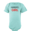 Grandpa's Girl Adorable Short Sleeve Baby Bodysuit