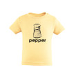Best Friends or Twins - Toddler Tee With Pepper (Goes With Salt) Print