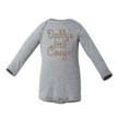 Girl's Daddy's Little Cowgirl Long Sleeve Baby Bodysuit