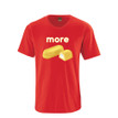 More Cream Filled Sponge Cake - Soft and Comfy Adult Tshirt