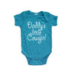 Daddy's Little Cowgirl Country Girl Short Sleeve Baby Bodysuit
