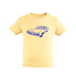 Kids Toddler Vintage Muscle Car Design Comfortable Tee Tshirt