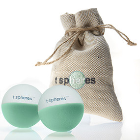 Double-purified massage balls. Great for travel, work, home spa, yoga or fitness.